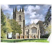 Canons Ashby Priory 1250AD Poster