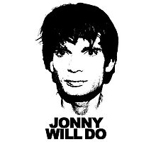 JONNY WILL DO Photographic Print