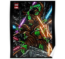 Jedi Turtles Poster