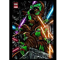 Jedi Turtles Photographic Print