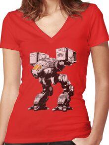 catapult  Women's Fitted V-Neck T-Shirt