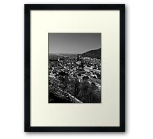 View Of Heidelberg From The Castle Framed Print