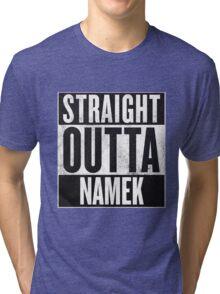 Straight Outta Namek - Dragon Ball Z Piccolo Tri-blend T-Shirt