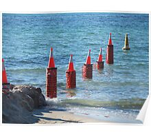 Dunsborough Cones Poster