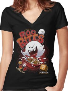 Boo Bites Women's Fitted V-Neck T-Shirt