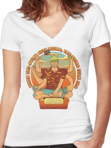 The Hunter Women's Fitted V-Neck T-Shirt
