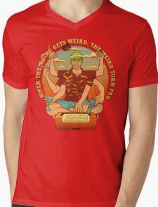 The Hunter Mens V-Neck T-Shirt