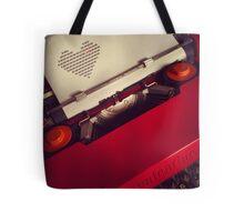 Send a LOVE letter...Retro style Tote Bag