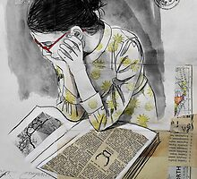 the reader by Loui  Jover