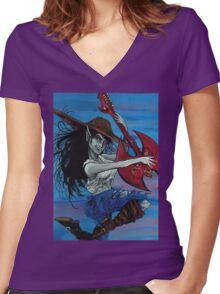 Marceline Shirt Women's Fitted V-Neck T-Shirt