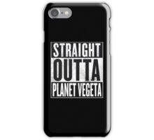 Straight Outta Planet Vegeta - Dragon Ball Z iPhone Case/Skin