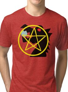 Dark Flame Dragon  - Chunnibyou Ren Tri-blend T-Shirt