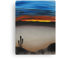 Thriving In The Desert Canvas Print