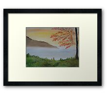 Some Alone Time Framed Print