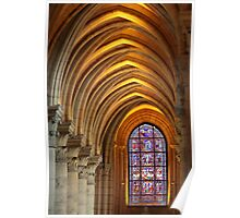 Laon Cathedral, perspective Poster
