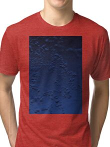 Abstract Blue Tri-blend T-Shirt