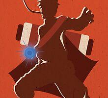"""Naruto Uzamaki Digital Art Print - """"Sage Mode"""" (Naruto Shippuden) by ShaheerA"""
