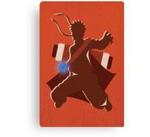 """Naruto Uzamaki Digital Art Print - """"Sage Mode"""" (Naruto Shippuden) Canvas Print"""