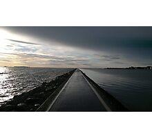 Footpath Around The Lake Photographic Print