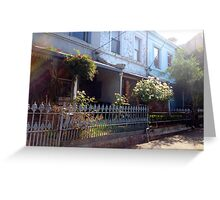 innercity summer Greeting Card