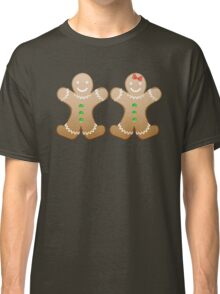 Smiling Gingerbread Cookies Classic T-Shirt