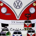 VW Camper by Francis  McCafferty