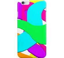 Colour Streaks iPhone Case/Skin