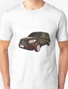 new black 4x4 suv isolated T-Shirt