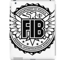 FIB Logo iPad Case/Skin
