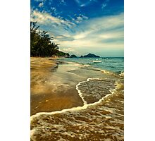 Tropical Waves Photographic Print