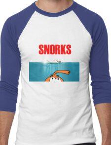 SNORKS...... da, da, da, da Men's Baseball ¾ T-Shirt