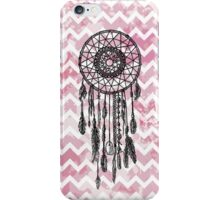 Pink Chevron Dreamcatcher iPhone Case/Skin