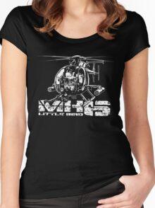 MH-6 Little Bird Women's Fitted Scoop T-Shirt
