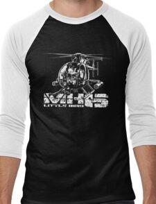MH-6 Little Bird Men's Baseball ¾ T-Shirt