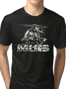 MH-6 Little Bird Tri-blend T-Shirt