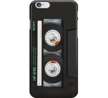 Classic Retro Cassette Tape iPhone Case/Skin