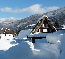 Koinokura Village in Japan Alps by kibishipaul