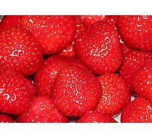 Strawberries :) :) :) Photographic Print