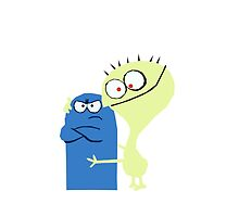 Cheese and Bloo vector  by Frexk