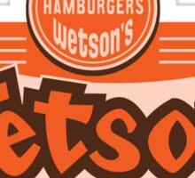 Wetson's Sticker