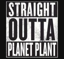 Straight Outta Planet Plant - Dragon Ball Z Kids Tee