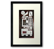 Cars  and  Crossings  Framed Print