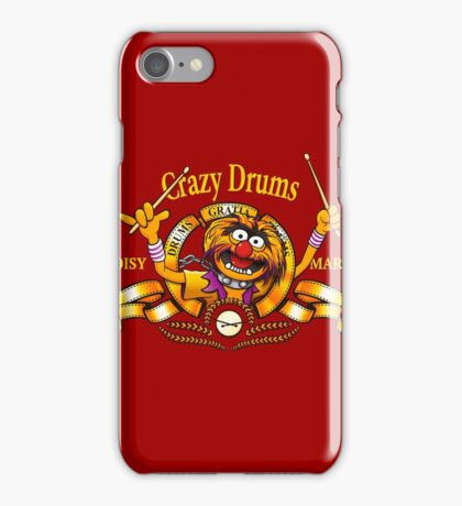Crazy Drums iPhone Case/Skin