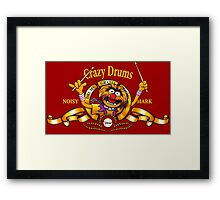 Crazy Drums Framed Print