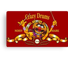 Crazy Drums Canvas Print