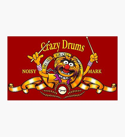 Crazy Drums Photographic Print
