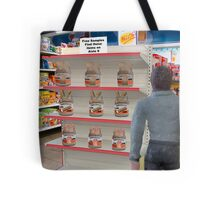 Barry hates when Maggie sends him to the store with a non-specific list! Tote Bag