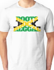 Roots Rock Reggae jamaica Unisex T-Shirt