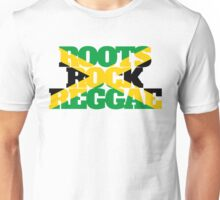 Roots Rock Reggae jamaica Unisex T-Shirt