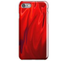 Abstract Poppy iPhone Case/Skin